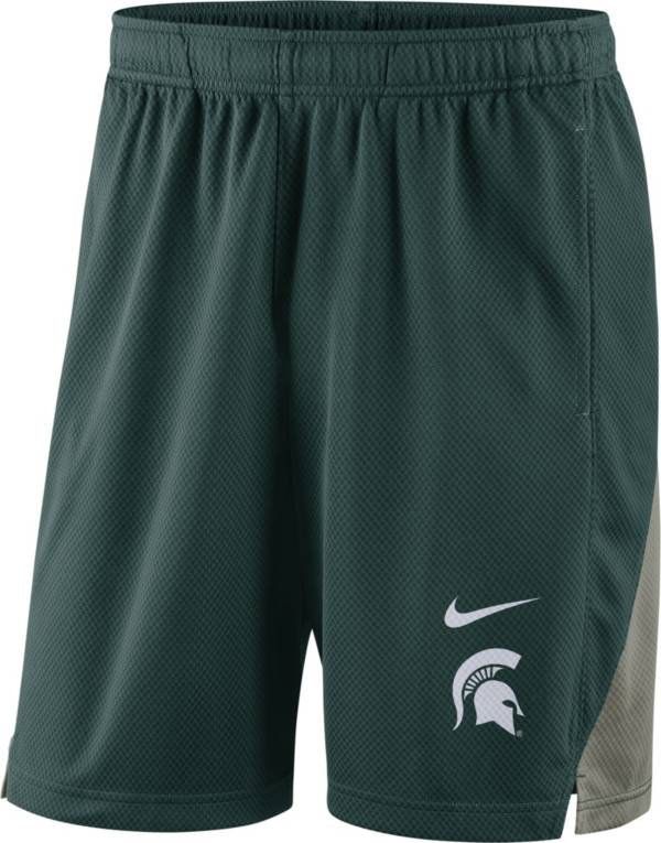 Nike Men's Michigan State Spartans Green Franchise Shorts product image