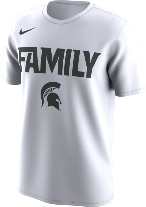 db722c766 Nike Men's Michigan State Spartans 'Family' Bench White T-Shirt.  noImageFound. Previous