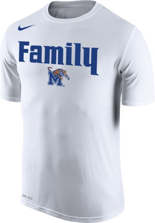 45a3d08ca67 Nike Men s Memphis Tigers  Family  Bench White T-Shirt