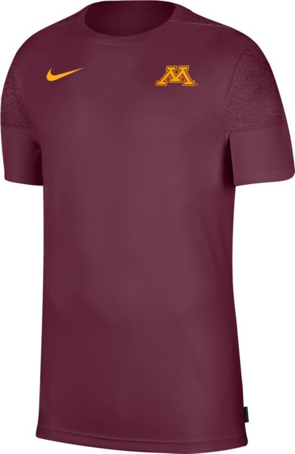 Nike Men's Minnesota Golden Gophers Maroon Top Coach UV T-Shirt product image