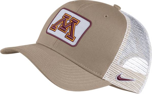 Nike Men's Minnesota Golden Gophers Tan Classic99 Trucker Hat product image