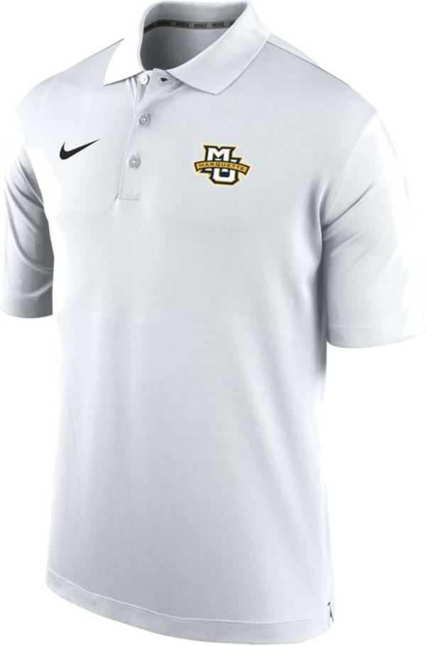 Nike Men's Marquette Golden Eagles Varsity White Polo product image