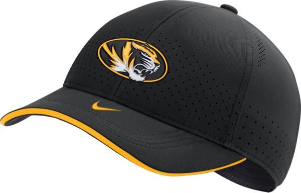 Nike Men's Missouri Tigers AeroBill Classic99 Football Sideline Black Hat product image