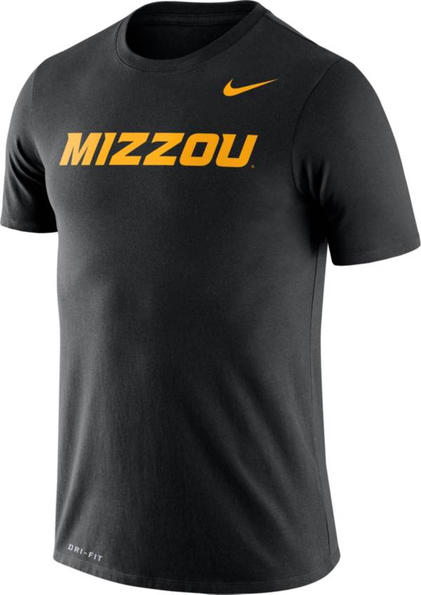 Nike Men's Missouri Tigers Black Dri-FIT Legend Word T-Shirt product image