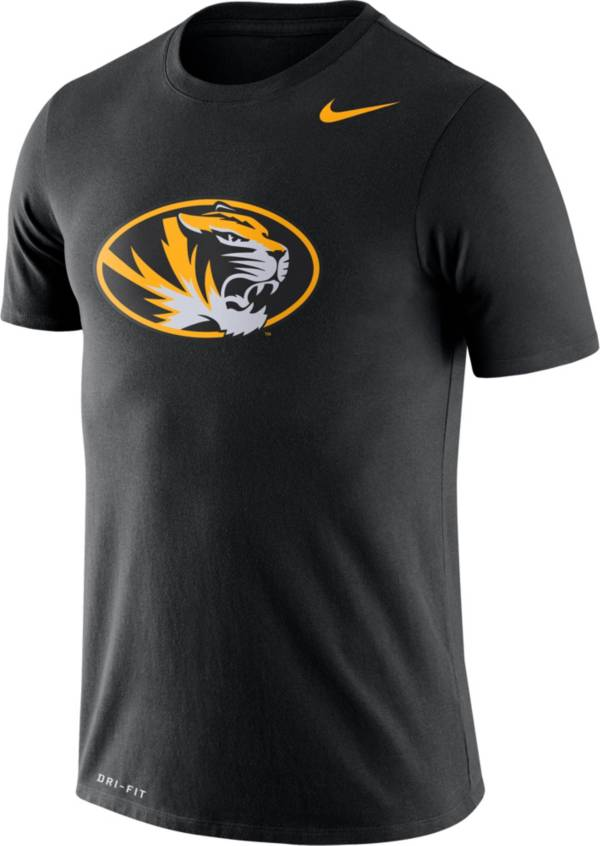 Nike Men's Missouri Tigers Logo Dry Legend Black T-Shirt product image