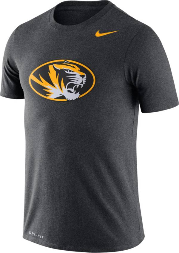 Nike Men's Missouri Tigers Grey Logo Dry Legend T-Shirt product image