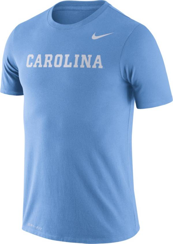 Nike Men's North Carolina Tar Heels Carolina Blue Dri-FIT Legend Word T-Shirt product image