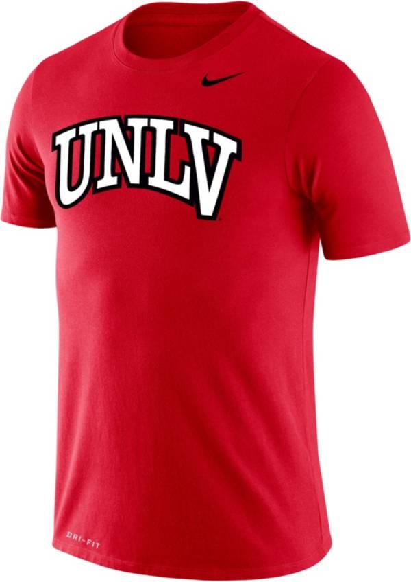 Nike Men's UNLV Rebels Scarlet Logo Dry Legend T-Shirt product image