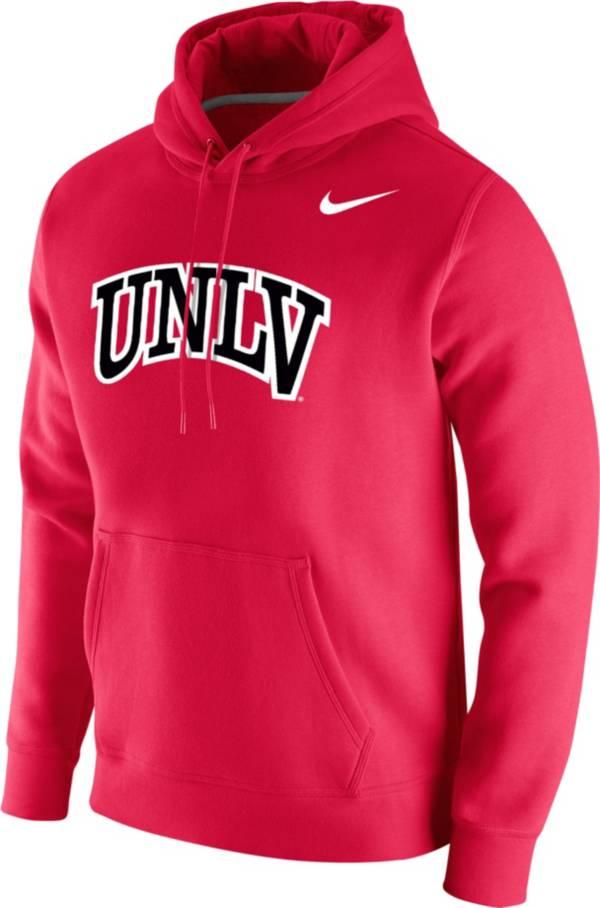 Nike Men's UNLV Rebels Scarlet Club Fleece Pullover Hoodie product image