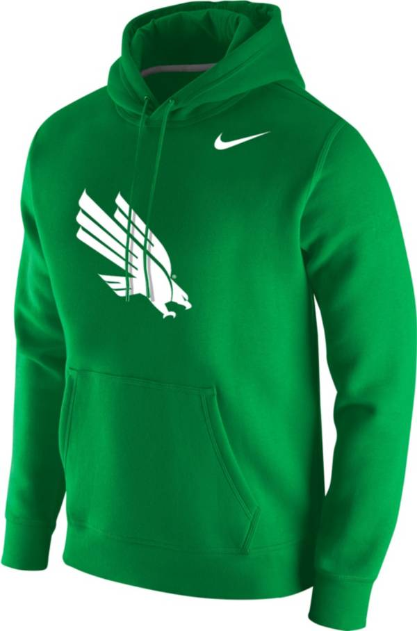 Nike Men's North Texas Mean Green Green Club Fleece Pullover Hoodie product image