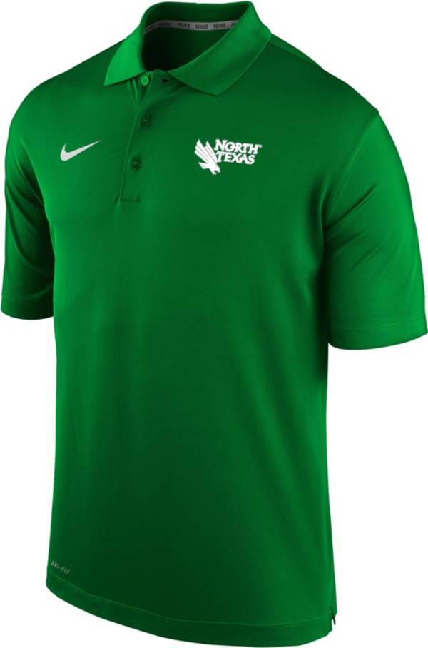 Nike Men's North Texas Mean Green Green Varsity Polo product image
