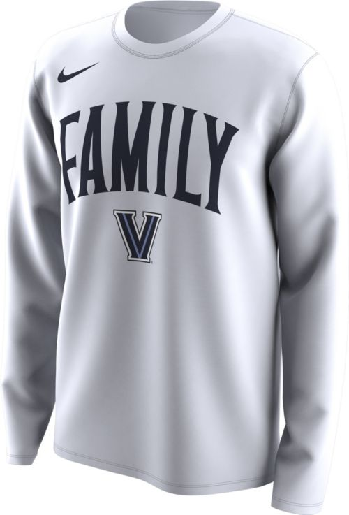 6a245cf9 Nike Men's Villanova Wildcats 'Family' Bench Long Sleeve White T-Shirt