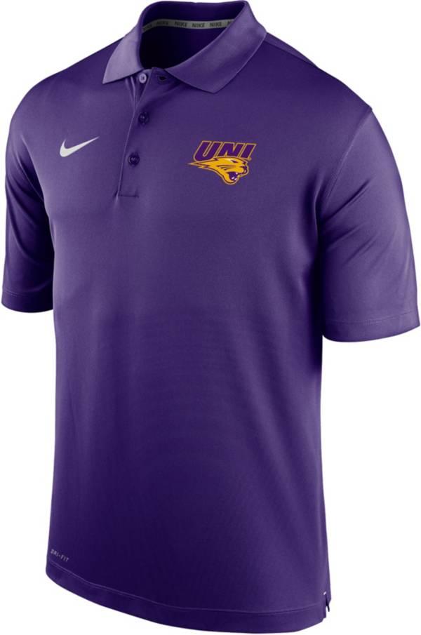 Nike Men's Northern Iowa Panthers  Purple Varsity Polo product image