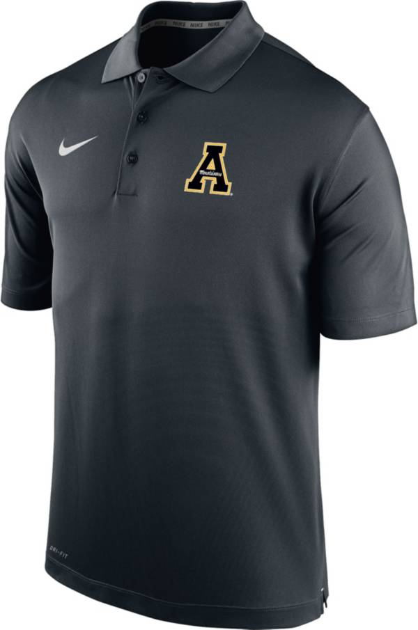 Nike Men's Appalachian State Mountaineers Varsity Black Polo product image