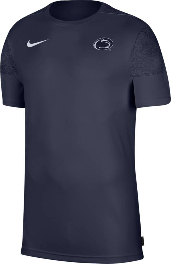 Nike Men's Penn State Nittany Lions Blue Top Coach UV T-Shirt product image