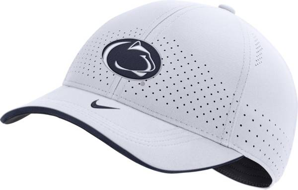 Nike Men's Penn State Nittany Lions AeroBill Classic99 Football Sideline White Hat product image