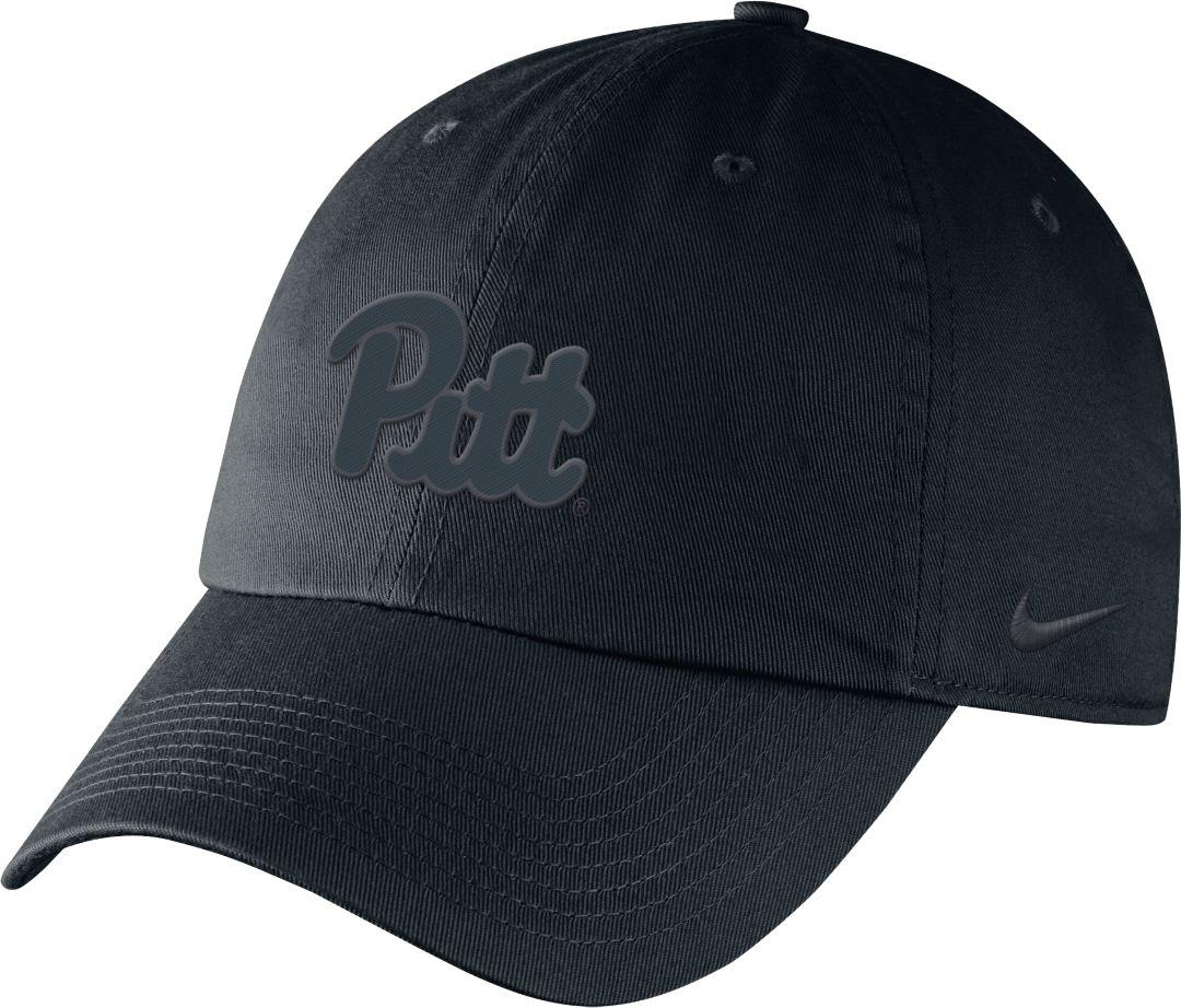 71ca5e10 Nike Men's Pitt Panthers Unstructured Adjustable Black Hat. noImageFound.  Previous