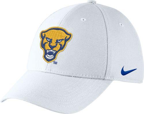 83f146f7d0 Nike Men s Pitt Panthers Swoosh Flex White Hat. noImageFound. Previous