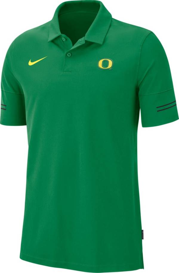 Nike Men's Oregon Ducks Green Elevated Flex On-Field Performance Polo product image