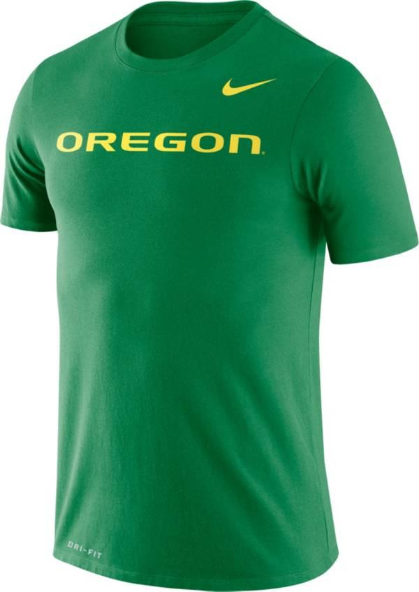 Nike Men's Oregon Ducks Green Dri-FIT Legend Word T-Shirt product image