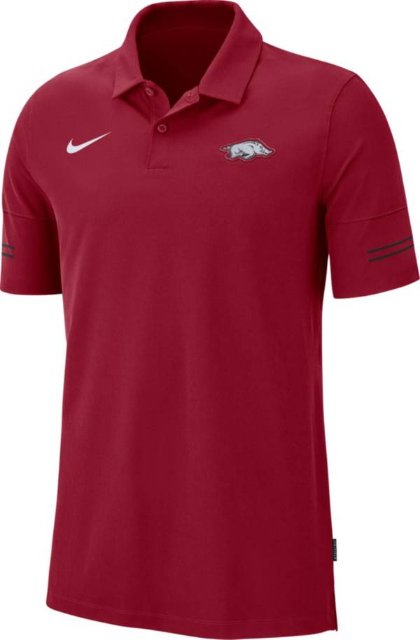 Nike Men's Arkansas Razorbacks Cardinal  Elevated Flex On-Field Performance Polo product image