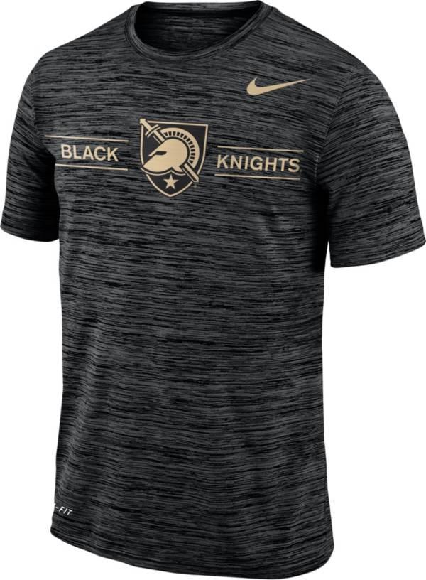 XL NCAA Army Black Knights Mens Performance Longsleeve TeePerformance Longsleeve Tee Black