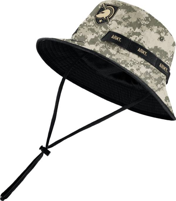 Nike Men's Army West Point Black Knights Camo Dri-FIT Sideline Bucket Hat product image