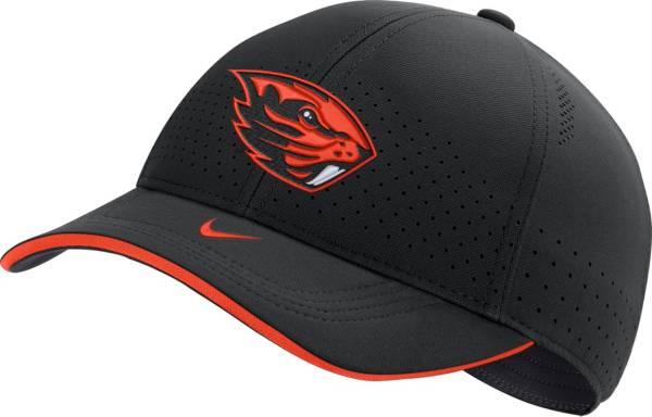Nike Men's Oregon State Beavers AeroBill Classic99 Football Sideline Black Hat product image