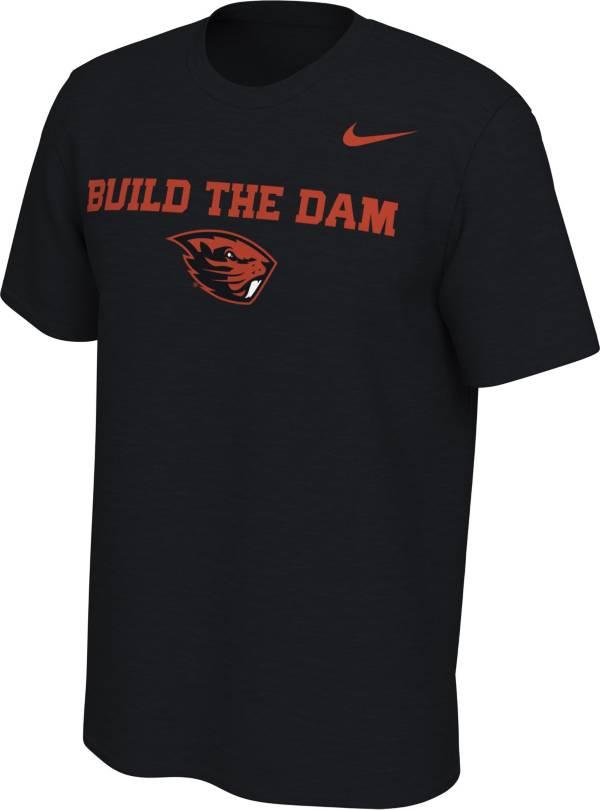 Nike Men's Oregon State Beavers Mantra Black T-Shirt product image