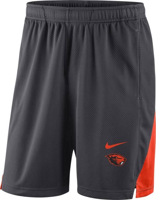 Nike Men's Oregon State Beavers Grey Franchise Shorts product image