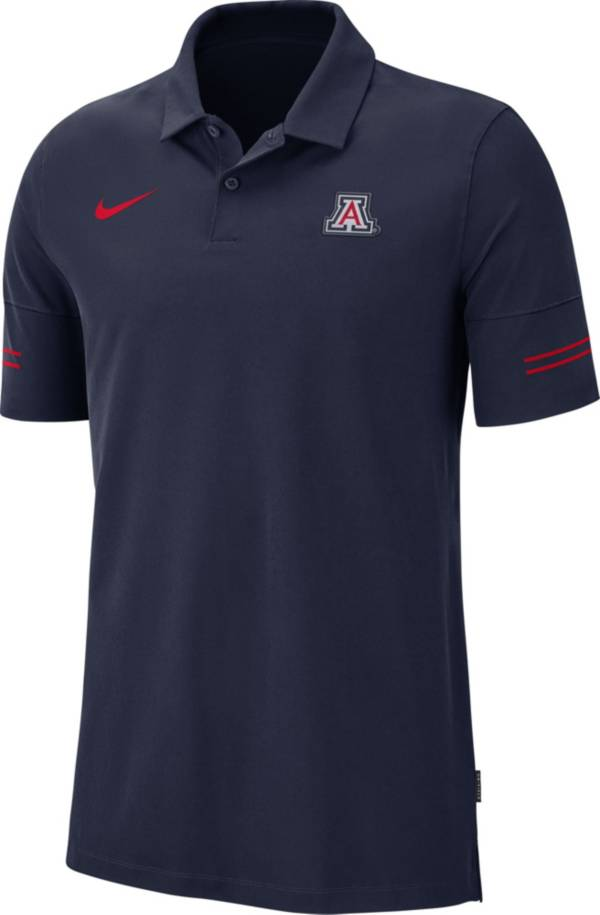 Nike Men's Arizona Wildcats Navy Elevated Flex On-Field Performance Polo product image