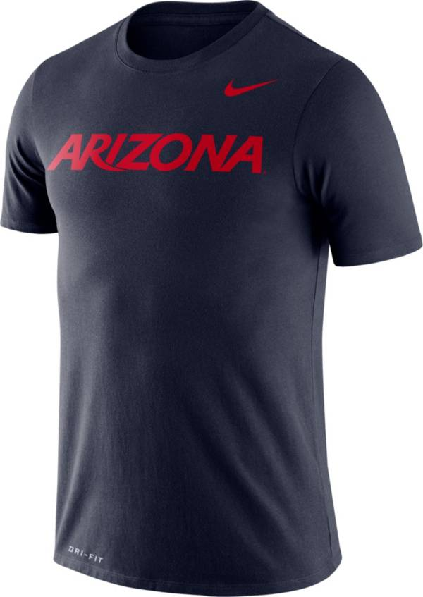 Nike Men's Arizona Wildcats Navy Dri-FIT Legend Word T-Shirt product image