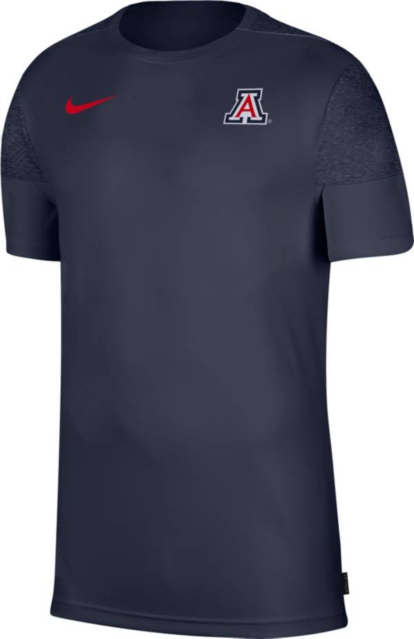 Nike Men's Arizona Wildcats Navy Top Coach UV T-Shirt product image