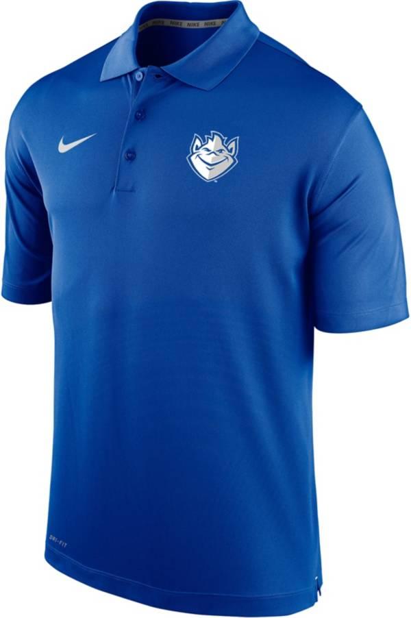 Nike Men's Saint Louis Billikens Blue Varsity Polo product image