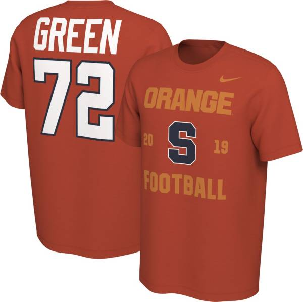 Nike Men's Tim Green Syracuse Orange #72 Orange Out T-Shirt product image