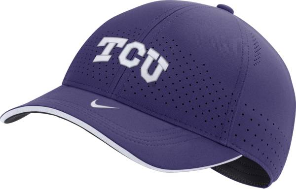 Nike Men's TCU Horned Frogs Purple AeroBill Classic99 Football Sideline Hat product image