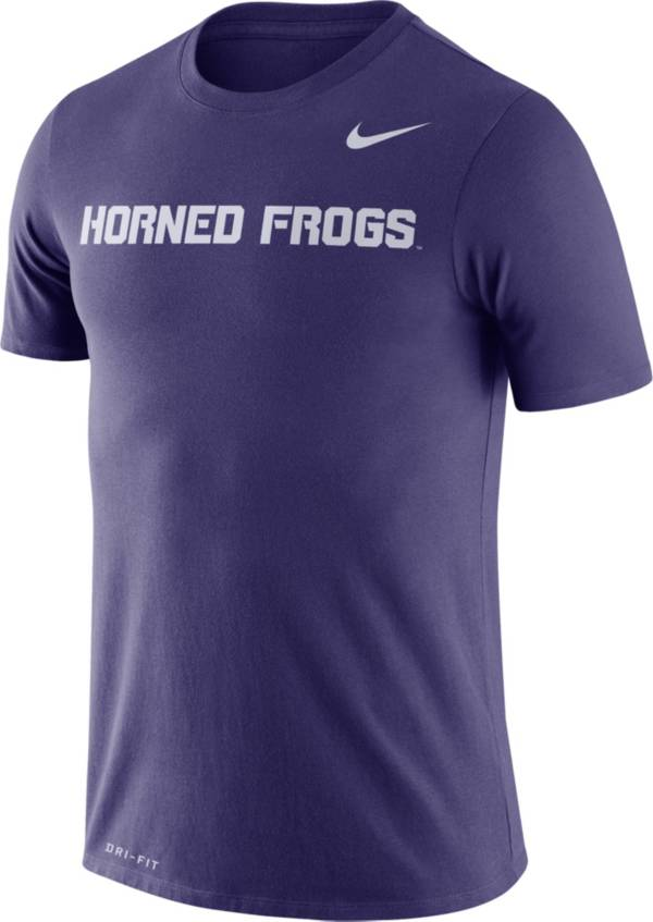 Nike Men's TCU Horned Frogs Purple Dri-FIT Legend Word T-Shirt product image