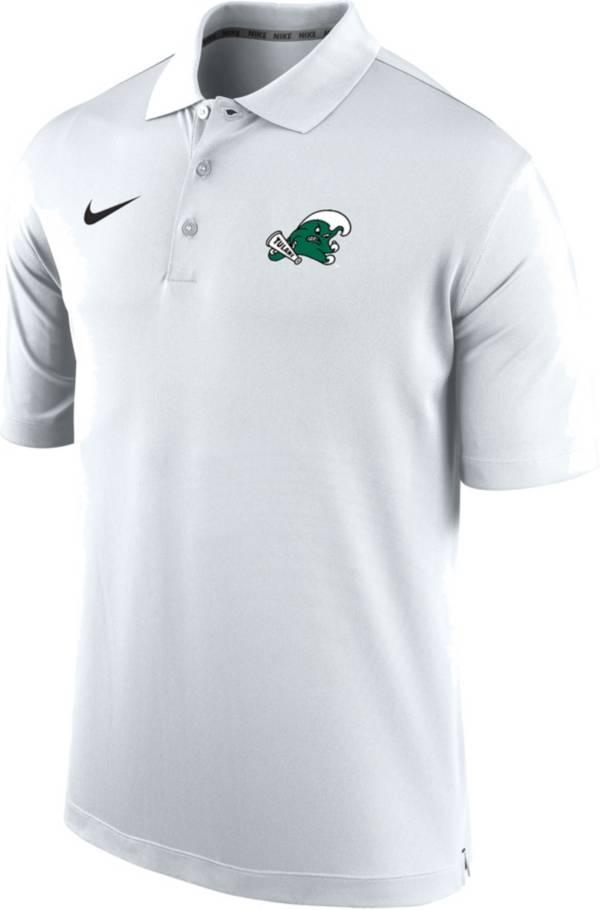 Nike Men's Tulane Green Wave Varsity White Polo product image