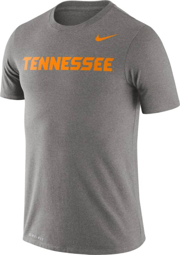 Nike Men's Tennessee Volunteers Grey Dri-FIT Legend Word T-Shirt product image