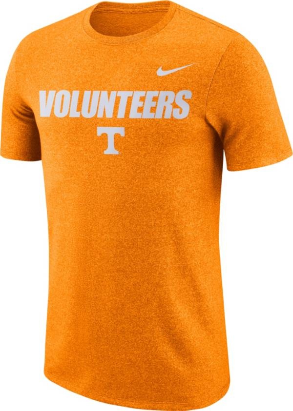 Nike Men's Tennessee Volunteers Tennessee Orange Marled Logo T-Shirt product image