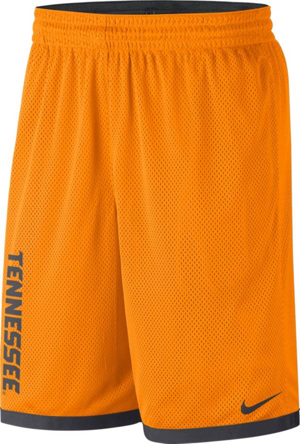 Nike Men's Tennessee Volunteers Tennessee Orange Dri-FIT Mesh Basketball Shorts product image