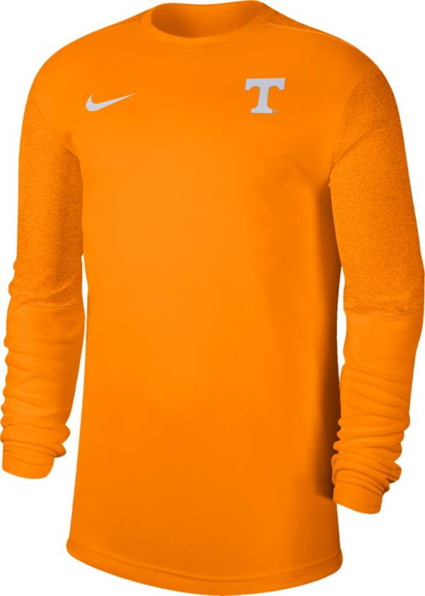 Nike Men's Tennessee Volunteers Tennessee Orange Top Coach UV Football Long Sleeve T-Shirt product image