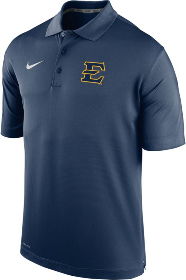 Nike Men's East Tennessee State Buccaneers Navy Varsity Polo product image