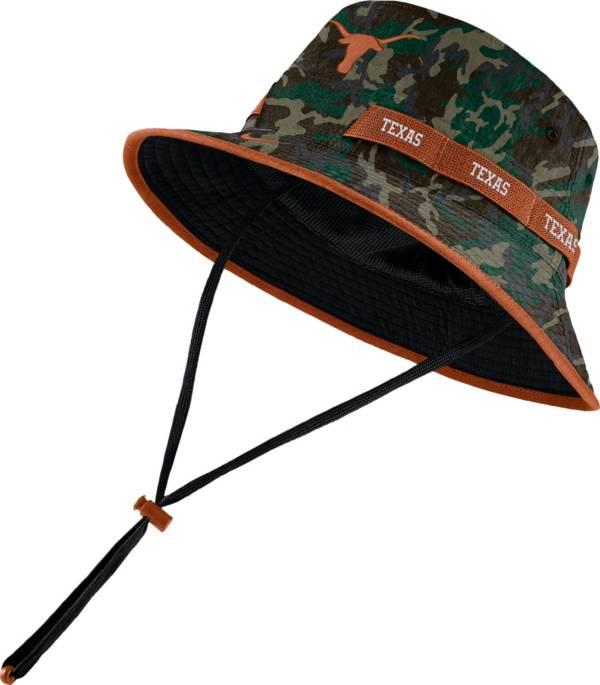 Nike Men's Texas Longhorns Camo Dri-FIT Sideline Bucket Hat product image