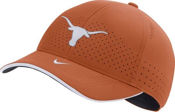 Nike Men's Texas Longhorns Burnt Orange AeroBill Classic99 Football Sideline Hat product image