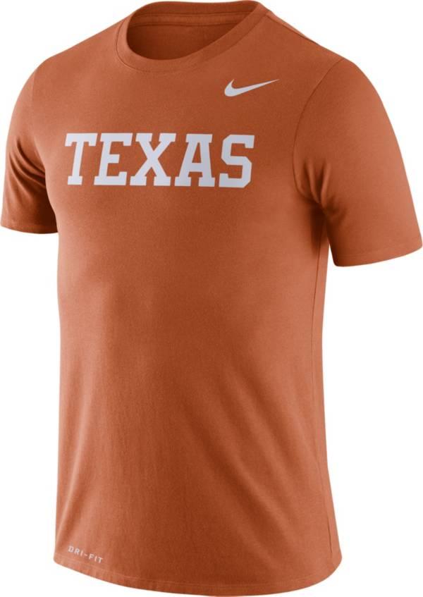 Nike Men's Texas Longhorns Burnt Orange Dri-FIT Legend Word T-Shirt product image