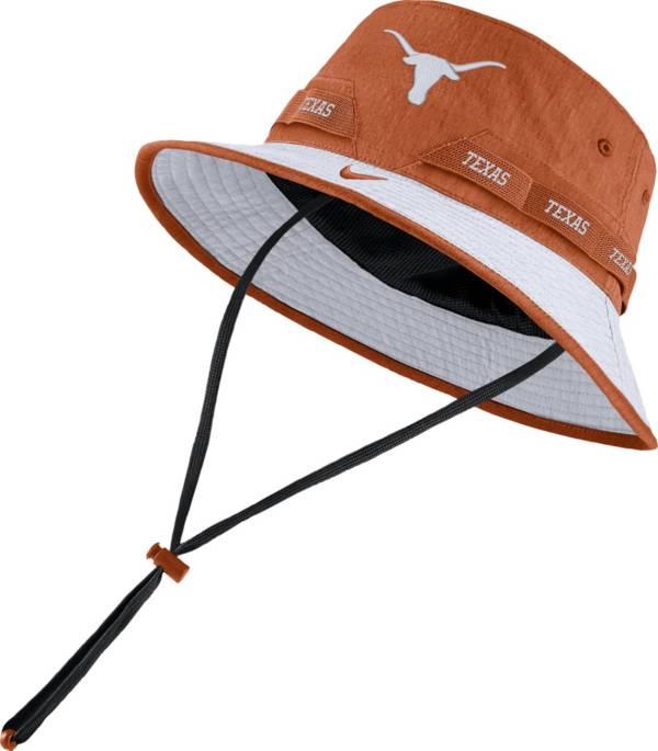 Nike Men's Texas Longhorns Burnt Orange Dri-FIT Sideline Bucket Hat product image