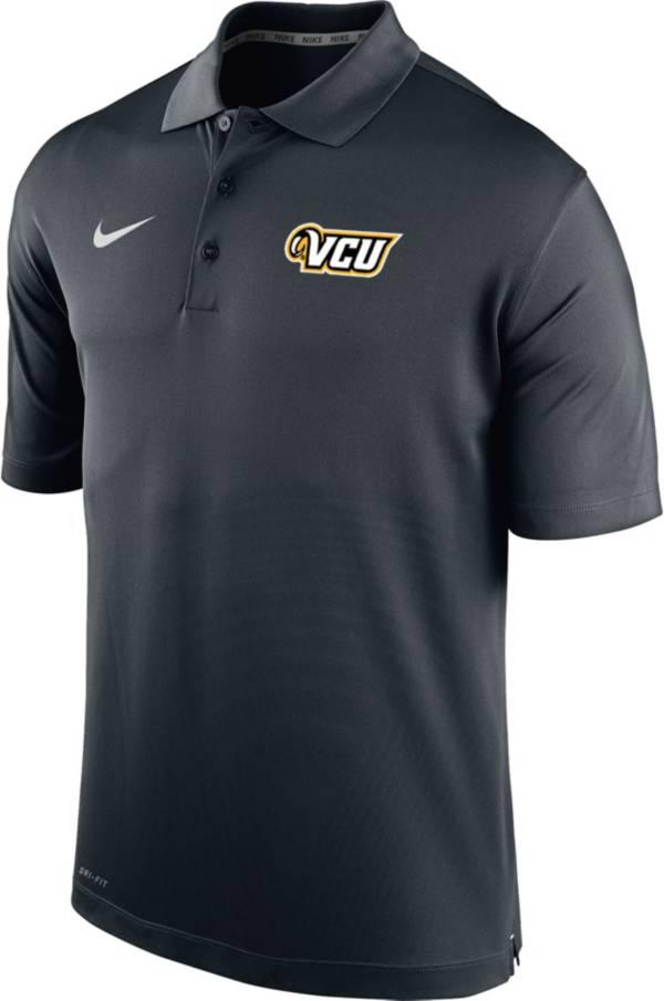 Nike Men's VCU Rams Varsity Black Polo product image