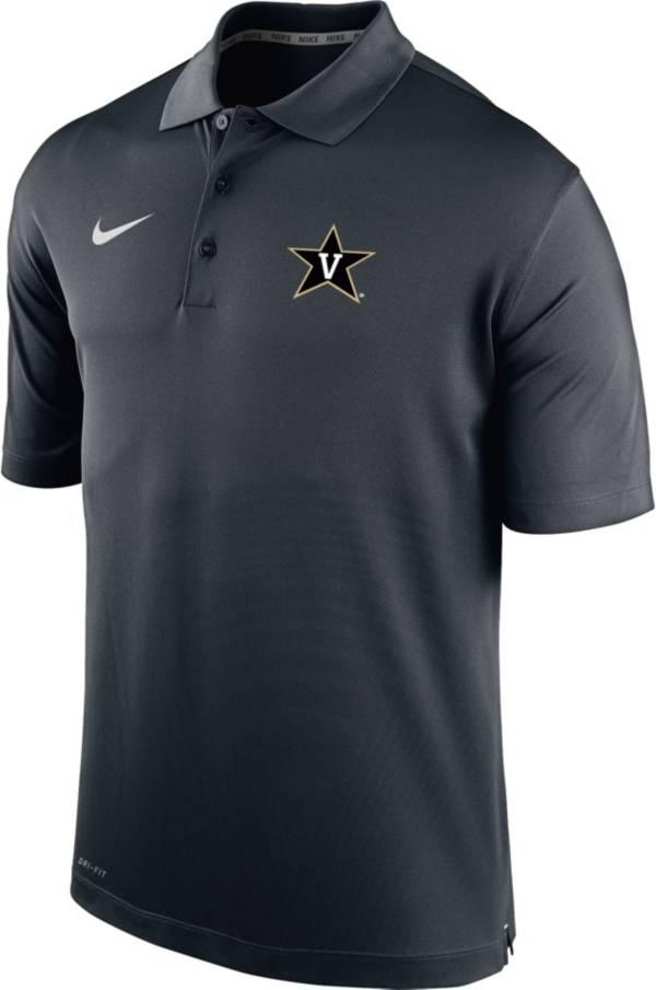 Nike Men's Vanderbilt Commodores Varsity Black Polo product image