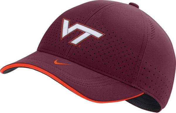 Nike Men's Virginia Tech Hokies Maroon AeroBill Classic99 Football Sideline Hat product image